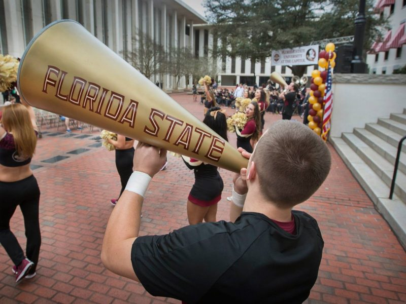 florida state rally college student budget