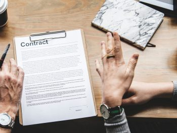 student loans contract